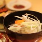 回転寿司函館まるかつ水産 - あら汁