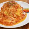 陽だまり食堂 - 料理写真:モッツァレラトマトオムライス