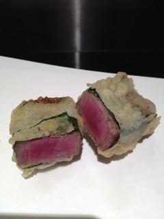 しみず - 牛フィレの天ぷら