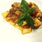 温古舎 - 牛肉のトマト煮込み 手打ちのパッパルデッレ