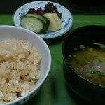 寿山 - 仕上げは鯛飯。
