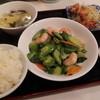 北京飯店 - 料理写真:海老とゴーヤ