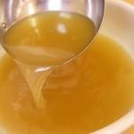 らーめんどんぐり - 透明度の高い澄んだスープ!!