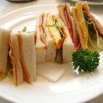 ヒロハウス - ミックスサンドイッチ