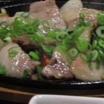 とんかつ大将  - いのぶた鉄板焼き定食1500円