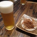 麻布 川上庵 - 生ビール&蕎麦かりんとう
