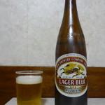 海員閣 - ビール(大瓶)