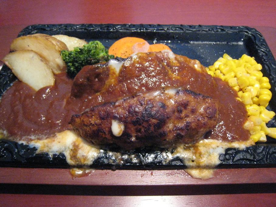ミートレストラン ハンバーグ 田上店