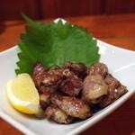 (食)ましか - 大山地鶏のこころ炭焼