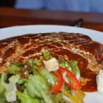 Dining Cafe Lloyd wright - 煮込みハンバーグ