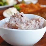 Dining Cafe Lloyd wright - ランチの五穀米