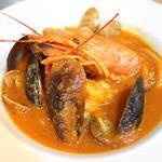 シンバル - 料理写真:チョッピーノ(海鮮トマトスープ)