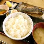 ふしみ食堂 - サバ塩焼き定食