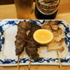 Toriharu - 料理写真:砂ぎも焼(1串150円)、ハツ塩焼(1串180円)、なんこつ焼(1串180円)