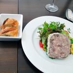 NOTE - 選べる前菜,NOTE特製そ,鶏砂肝のパテドカンパーニュ