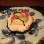 野菜割烹 あき吉 - 丸茄子と野菜のグラタン