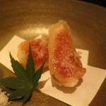 野菜割烹 あき吉 - 料理写真:無花果の天ぷら