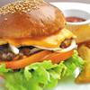 じゅらく - 料理写真:「上野バーガー」絶品の味わい♪
