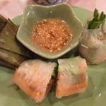 アジアンキッチン サワディー - 生春巻き