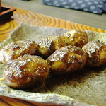はんば亭 - 下栗芋の田楽