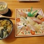 和食家 てんすい - 料理写真:茶碗蒸しセット