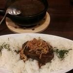 近江屋清右衛門 - 料理写真:自家製欧風ビーフカレー1000円