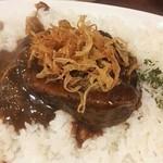 近江屋清右衛門 - 料理写真:トロトロ牛バラ肉 フライドオニオン
