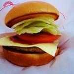 モスバーガー - 料理写真:モーニング野菜チーズバーガー