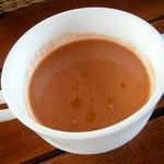 リストランテハック - ファーム野菜の冷静スープ