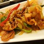 アリラン - 豚肉甘辛炒め