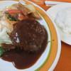 みさきキッチン - 料理写真:ハンバーグランチ:900円