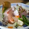 備後屋 - 料理写真:鯛、車海老、さより、さわら、かんぱち