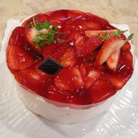 苺のショートケーキ(苺のおいしい季節)