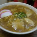 まるしげ - 料理写真:中華そば