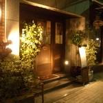 トラットリア・ラ・テスタドゥーラ - 蕎麦屋神田まつやに隣接しています!!茶色のビルで緑のテント☆