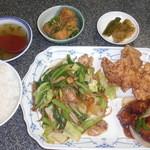 中華料理 桃園 - サービス定食