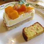 菓子工房 デコレ - マンゴーのケーキ