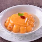 チャイナムーン - 果肉入りフレッシュマンゴーのプリン
