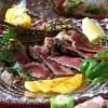 PULP FICTION - 料理写真:『山古志牛のグリグリア』(1,900円)など県産食材を積極的に使用