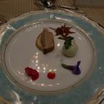 コートヤード・マリオット銀座東武ホテル - フォアグラのムースとポークリエット