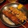 ぶたいちろう - 料理写真:レバー串(1串105円)、シロ串(1串105円)
