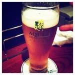 ビアカフェあくら - 優しいマスターがビールをひとつひとつ丁寧に説明してくれました!