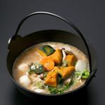 浅間茶屋 - 料理写真:かぼちゃほうとう