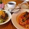 ぱぱでむ~ちょ - 料理写真:ランチセット パン サラダ ドリンク付き