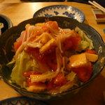 南風 - 海鮮サラダ。(全体的に雑な作り)