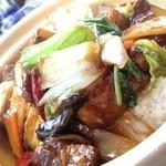 京華茶楼 - 角煮がゴロゴロ