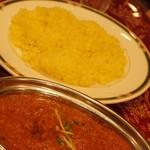 タージマハール - 単品カレー&サフランライス