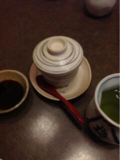 梅若寿し - 茶碗蒸し