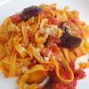 カフェ ナトゥーラ - 料理写真:茄子とモッツァレラのトマトソースパスタ(900円)