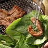新羅ガーデン - 料理写真:サンチュで包むとおいしさ倍増